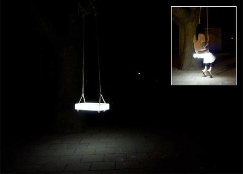 Swing Lamp (Images courtesy BCXSY)
