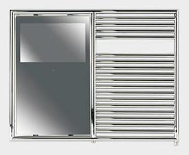 Aquavision Towel Rail TV (T2)