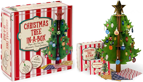 Christmas Tree In-A-Box (Images courtesy Barnes & Noble)