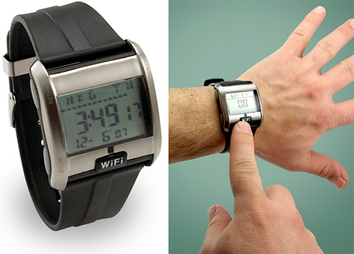 WiFi Detecting Watch (Images courtesy ThinkGeek)