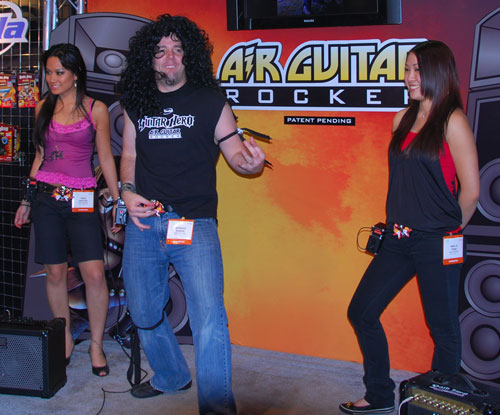 Guitar Hero Air Guitar