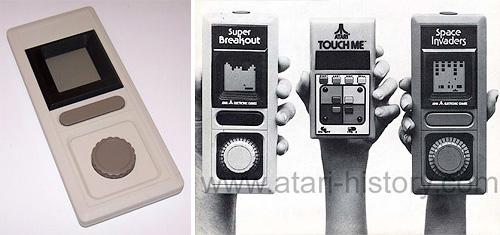 Atari Super Breakout prototype LCD Handheld (Image courtesy Atarimuseum)