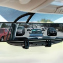 Extra Wide Rear View Mirror Eliminates Blind Spots