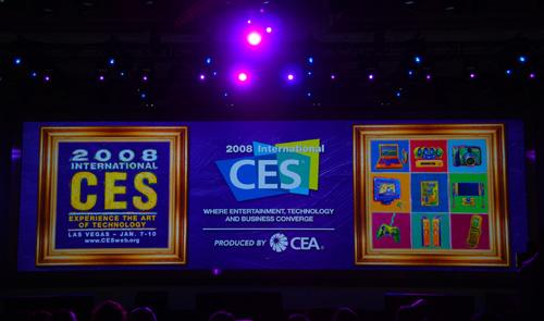 CES Keynote Stage