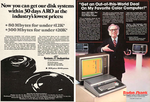 10 Incredible Old Computer Ads (Images courtesy 2Spare)