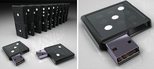 Domino Pen Drive (Images courtesy Marcos Breder)