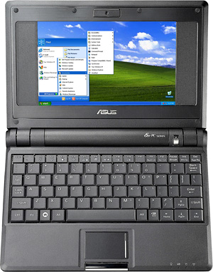 Asus EEE PC (Image courtesy Asus)