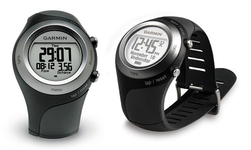 Garmin Forerunner 405 (Images courtesy Garmin)