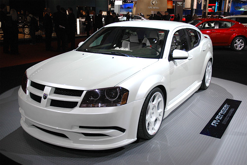 Dodge Avenger Stormtrooper (Image property of OhGizmo!)
