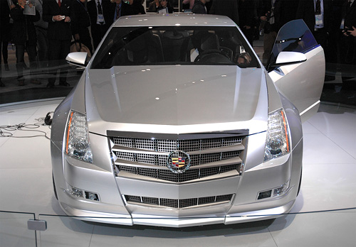 Cadillac CTS Coupe Concept (Image property of OhGizmo!)
