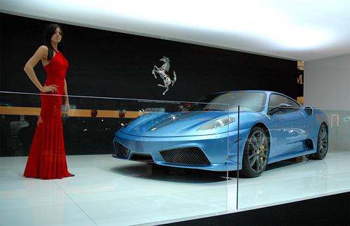 Ferrari 430 Scuderia (Image property of OhGizmo!)