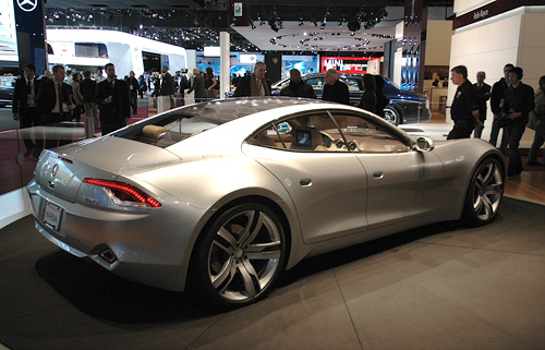 Fisker Automotive Karma (Image property of OhGizmo!)
