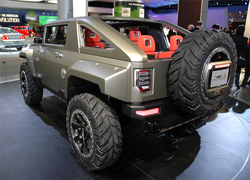 Hummer HX Concept (Images property of OhGizmo!)