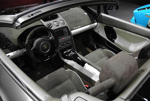 Lamborghini Gallardo Spyder (Image property of OhGizmo!)