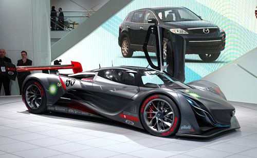 Mazda Furai Concept (Image property of OhGizmo!)
