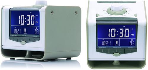 Neverlate Executive Alarm Clock (Images courtesy ThinkGeek)