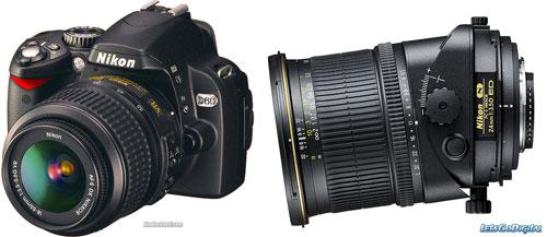 Nikon D60, Tilt/Shift