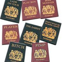 Novelty Passport Covers – Hello Strip Search!