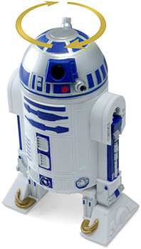 R2D2 Peppermill (Image courtesy ThinkGeek)