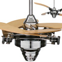 Air Shadow Ceiling Fan With Retractable Blades