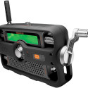 2-Way Hand-Crank Radio Also Works As Walkie Talkie