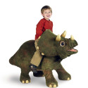 Be A Dino-Rider With Rideable Triceratops