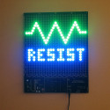 Make Your Own Mooninite LED Sign