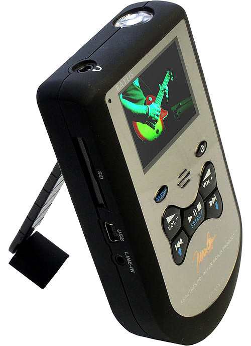 Baylis Eco EP-MX71 Hand-Cranked Media Player (Image courtesy the Daily Mail)