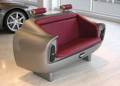 Aston Martin DB6 Couch (Image courtesy Winding Road)