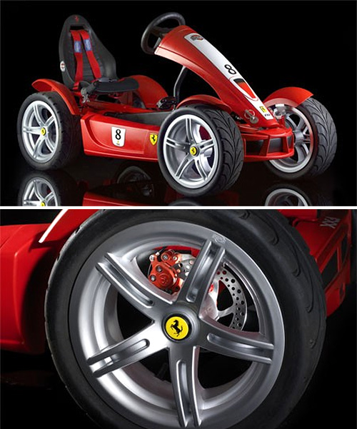 Berg Toys Ferrari FXX Pedal Car (Images courtesy Autoblog)