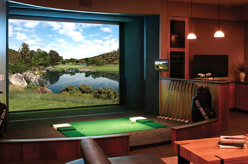 Full Swing Golf Simulator (Image courtesy BallerHouse)