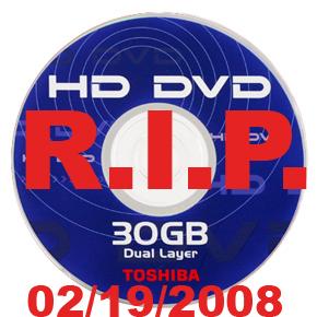 R.I.P. HD DVD