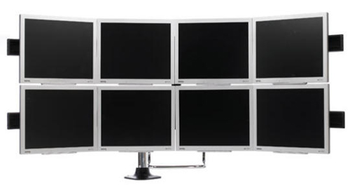 Paramount Parabolic Multi-Monitor Display