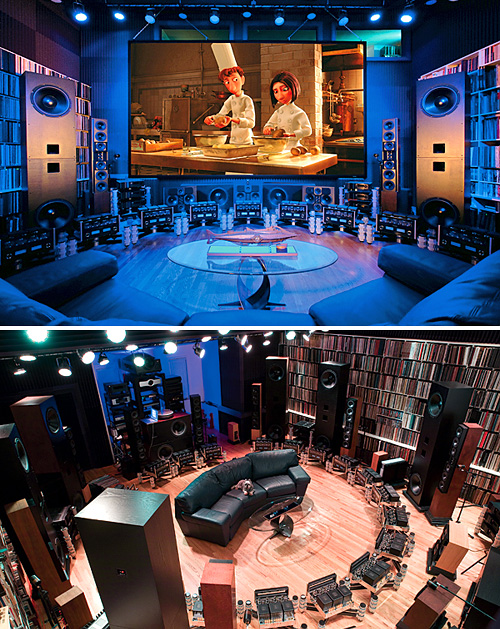 Jeremy Kipnis' Home Theater (Images courtesy Audio Video Interiors)