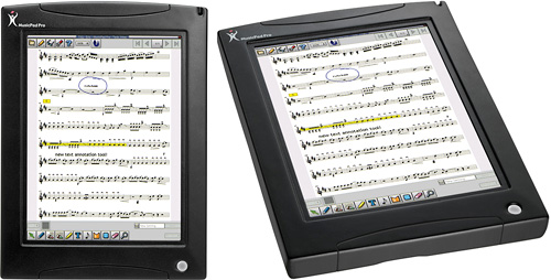 MusicPad Pro (Images courtesy FreeHand Systems)
