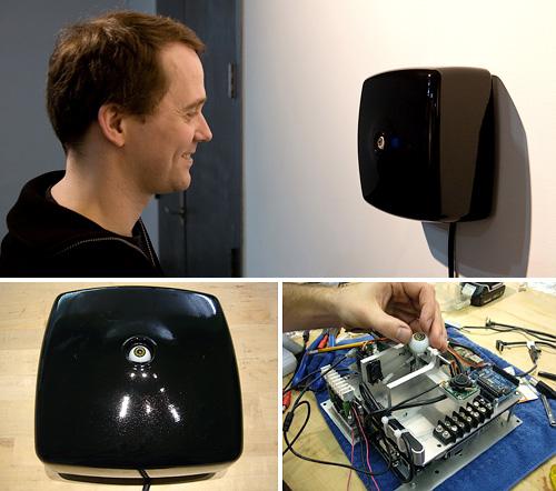 Opto-Isolator (Images courtesy Golan Levin)
