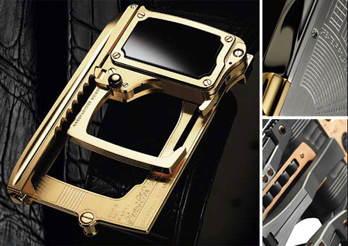 Roland Iten Mechanical Luxury Belt Buckle (Images courtesy Roland Iten)