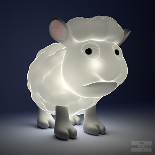 Seamour Sheep Lamp