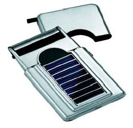 Solar powered razor