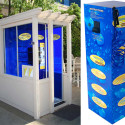 Sunscreen Mist Spray-On Booth And Station