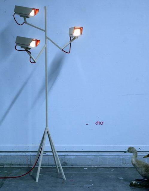 Surveillance Lamp