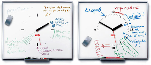 TaskWatch Whiteboard (Images courtesy Art. Lebedev Studio)