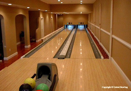 If You Want To Visit The Company S Website Go United Bowling And Click On Price Quotes Then Custom Residential Packages Here