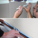 Wiretracks – Hide Unsightly Cables Behind Crown Molding Or Baseboards