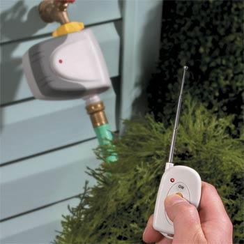 Remote Rain Water Control