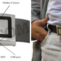 Belt Buckle Spy Camera Seems Awkwardly Placed