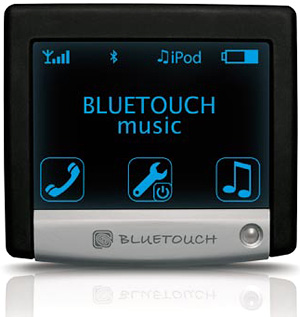 BLUETOUCH Bluetooth Car Kit (Image courtesy ALAC GmbH)