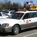 Guy Turns Subaru Outback Into Ecto-1