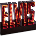 Light-Up Singing Elvis Sign