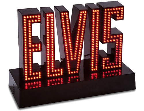 Light-Up Singing Elvis Sign (Image courtesy What on Earth)